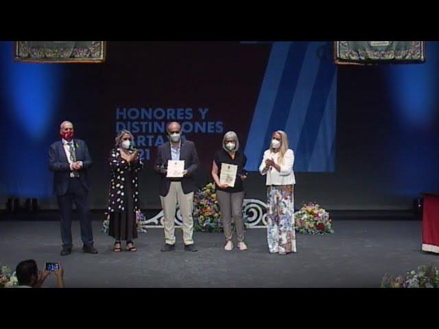 Cartaya Tv | Gala de Honores y Distinciones Cartaya 2021