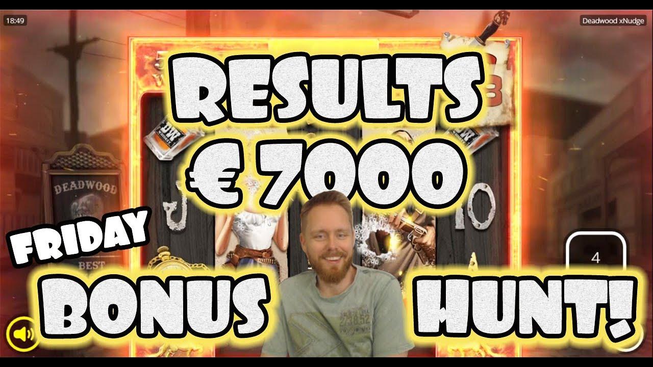 The €7000 Friday Bonushunt results! [25-09-2020]