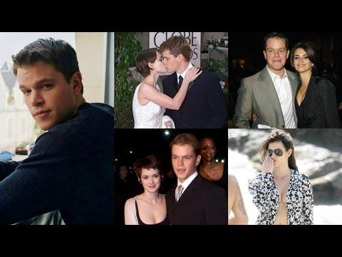 Girls Matt Damon Dated