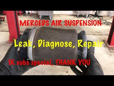 MERCEDES AIR SUSPENSION DIAGNOSE & REPAIR