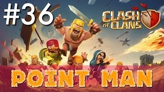 Clash of Clans - Single Player #36: Point Man | Minimalist Army Playthrough
