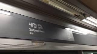 20171209 서울6호선 새절역 진입(봉화산행 열차) Korea Seoul metropolitan