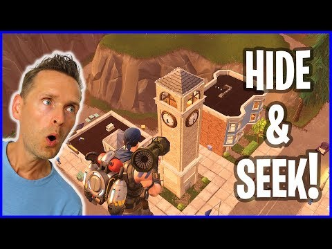 Guided Missle Hide & Seek Fight with Ronald!