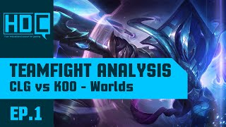 Teamfight Analysis: KOO vs CLG (World Championship Groupstages)