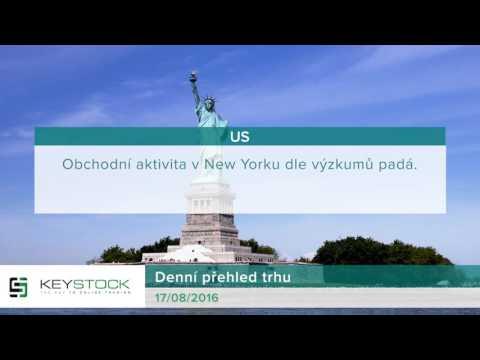 KeyStock Daily Review 17.08.2016 Czech