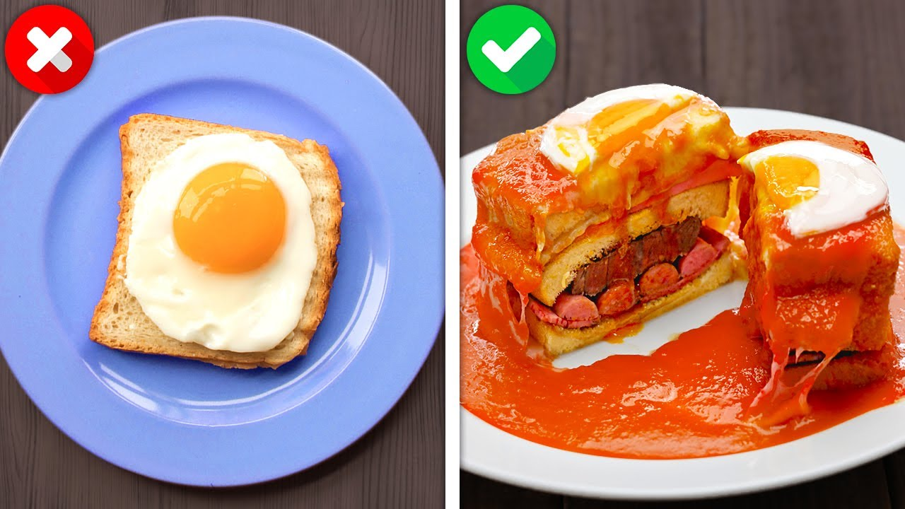 Quick And Yummy ONE-MINUTE Breakfast Ideas