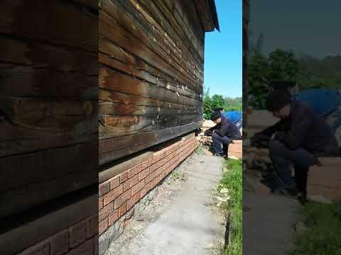 Ремонт деревянного дома из бруса в Уфе