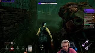 Dead by Daylight - Порно Клодетт с Каннибалом! 18+