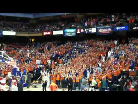Boise State Basketball Flash Mob - The Corral - Rd. 2