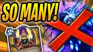 BEATING 20 LUCENTBARKS!? #4 WORST DECK IN THE WORLD | Prelate Paladin | Rise of Shadows Hearthstone