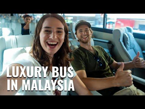 Traveling to KUALA LUMPUR by LUXURY BUS