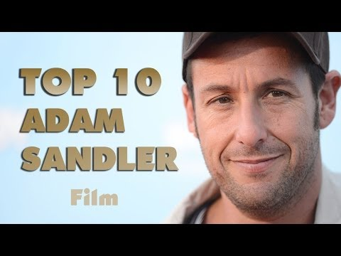 Top 10 Adam Sandler film - Legjobb Adam Sandler film, alakítás ( TOP MOVIESSS) videó letöltés
