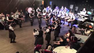 Stockbridge Pipe Band - Ceildih 2015 [Grade 3]
