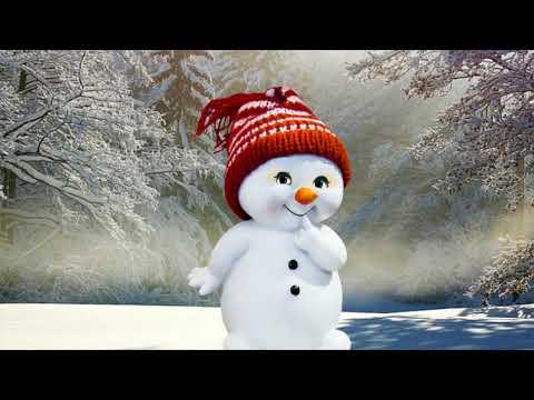 lustiger Spruch eines Schneemannes - lustige Sprüche zum anhören
