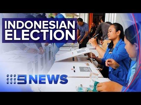 Pre-marked ballots mar Indonesia's elections   Nine News Australia