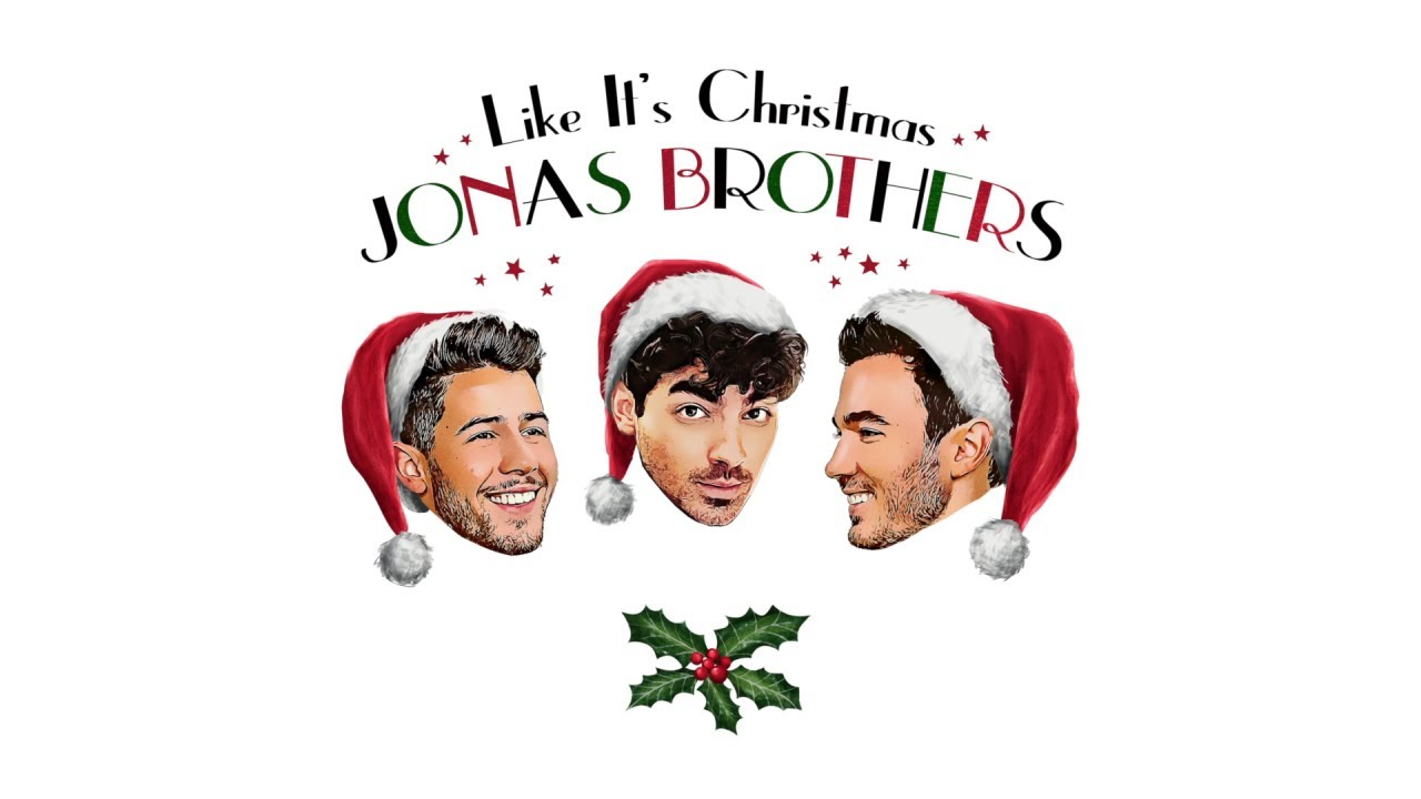 Image result for jonas brothers like it's christmas""