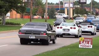 Amazing Muscle Car Burnouts & Drive bys