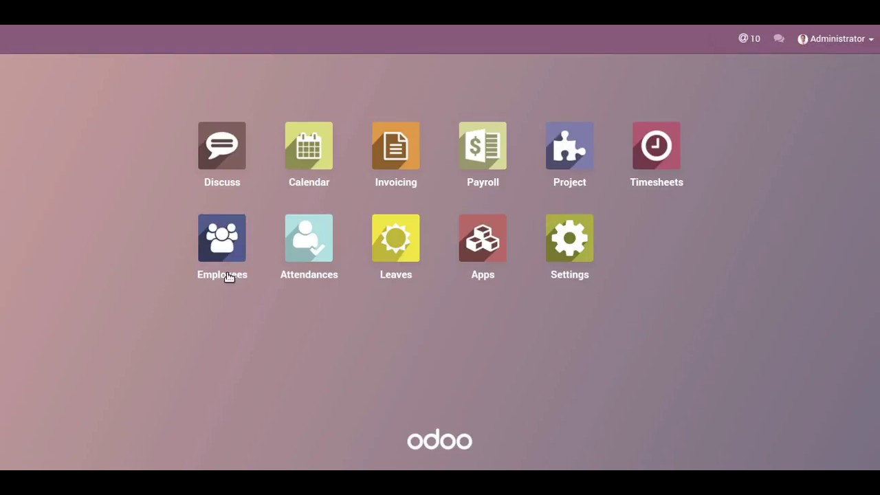 HR,Unpaid Leaves & Payroll Management in Odoo 10