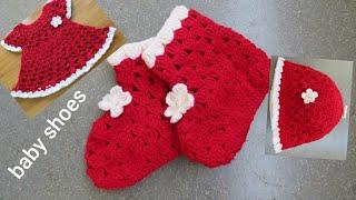 1-2 year,baby shoes, woolen shoes, crochet boot, crosia ke design, #306,by |Santosh All Art |