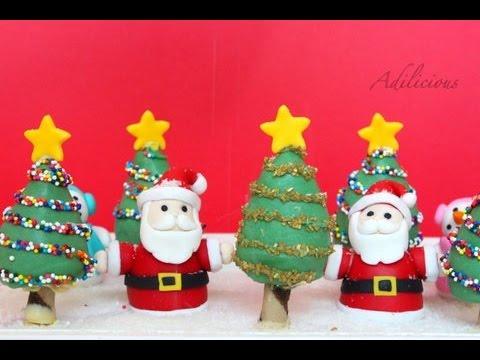 Strawberry Christmas Tree Forest | Easy Christmas Dessert