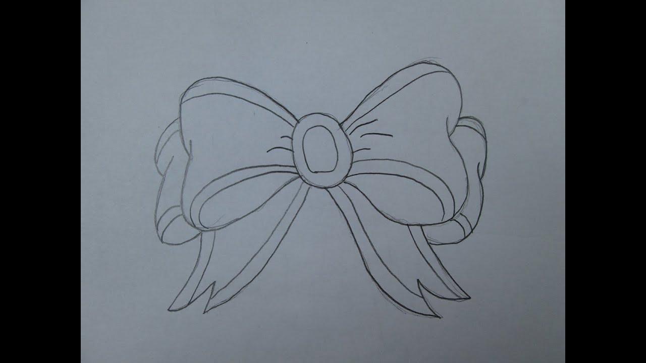 C mo dibujar un lazo de navidad youtube for Dibujo de lazo de navidad