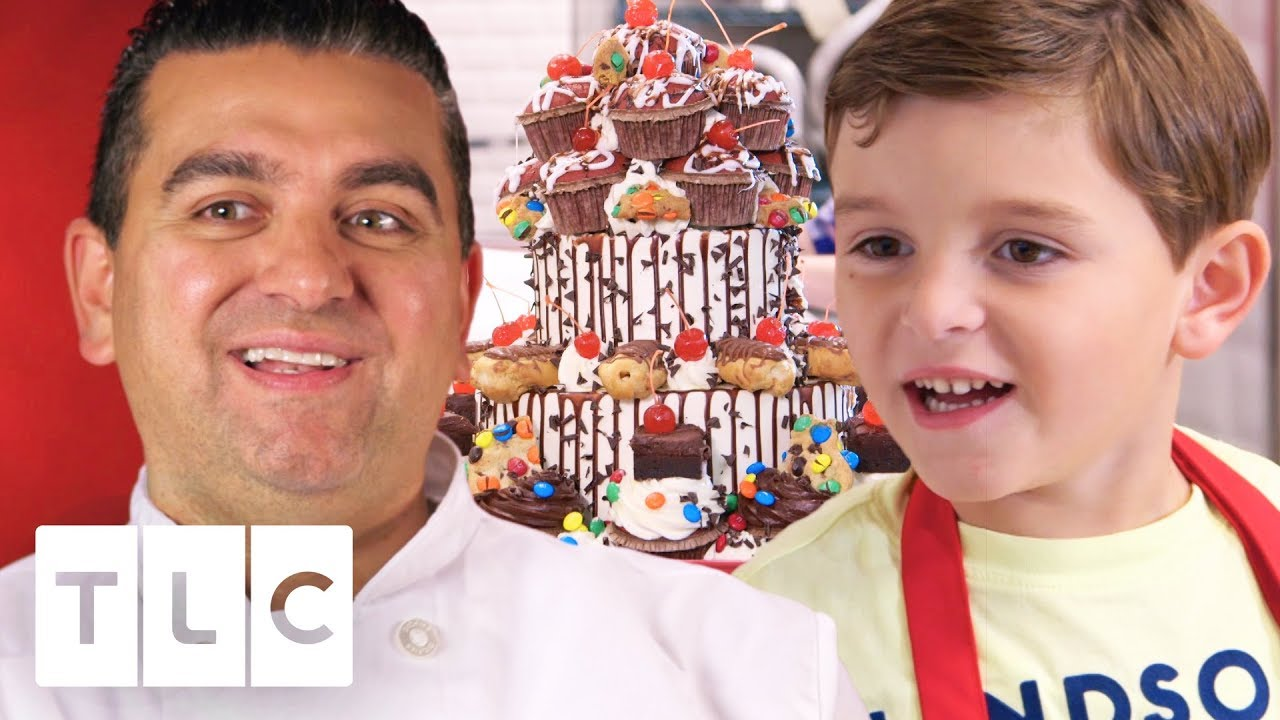 for whole family authentic classic Carlo Helps Buddy Make An Amazing Birthday Cake! | Cake Boss