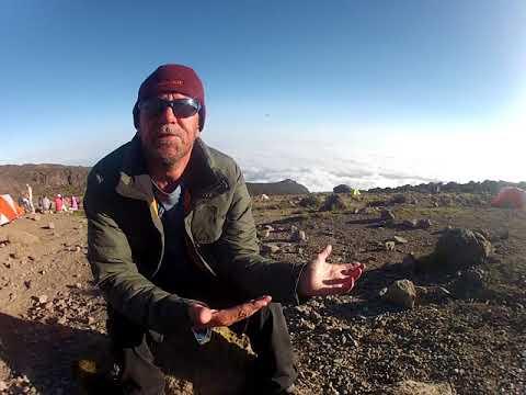 Kidney recipient's emotional hike up Mt. Kilimanjaro