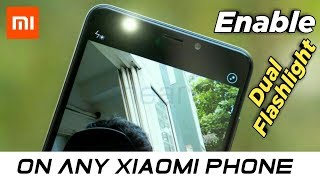 How To Enable Dual Flashlight On Any Xiaomi Phone | Xiaomi Phone Flashlight Secret Trick