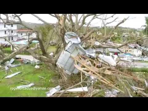 """ Damaged  by Soudelor ""  GARAPAN - CHALAN PIAO - CHALAN KANOA"
