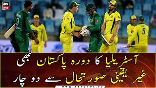 Australia's tour to Pakistan in jeopardy after NZ pulls out