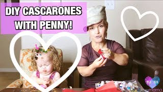 Mini Mama creates DIY Cascarones with Penelope!