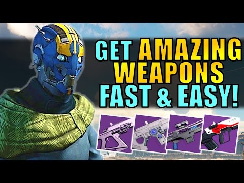 Destiny: Get AMAZING WEAPONS FAST & EASY!   Gunsmith In Age Of Triumph