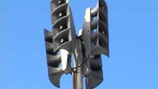 Monthly Tornado Siren Test - Mankato, MN - December 1st, 2010 - Talks at the end