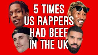 5 Times US Artists Had Beef In The UK