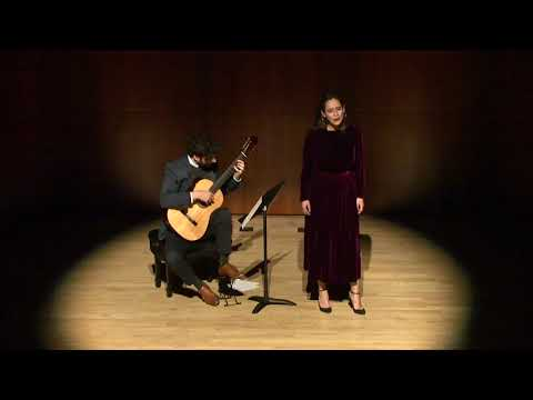 Four French Folk Songs - Matyas Seiber performed by Anthony LaLena and Robin Steitz