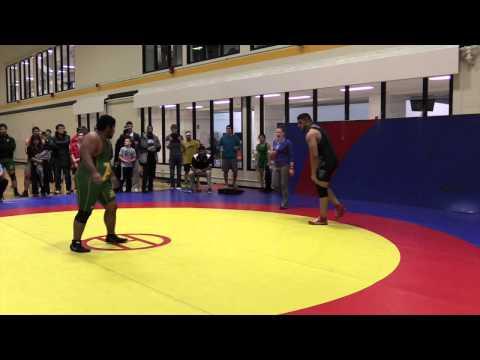 2015 Golden Bear Invitational: 120 kg Manny Kahlon vs. Saheel Khan