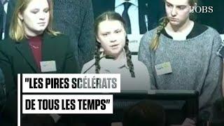 Greta Thunberg lance un avertissement aux dirigeants politiques