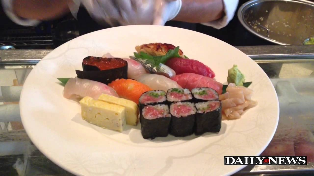 New york japanese restaurant nobu turns 20 youtube for Akira japanese cuisine nyc