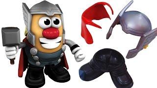 Mr Potato Head Thor Style - Р-н картопляна Голова Тор Стиль | іграшки сюрпризи / Igrushka Syurpriz