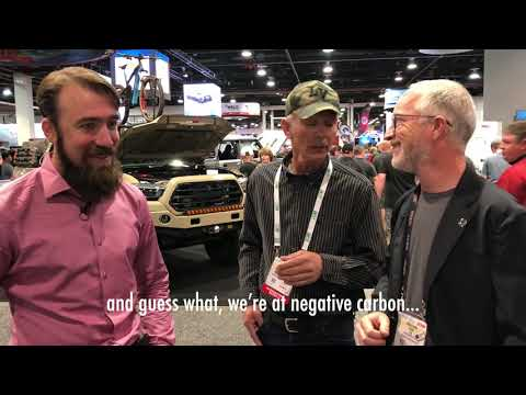 Conspiracy Theories and Carbon denial by a Farmer at SEMA praises coal with Icon's Jonathan Ward!