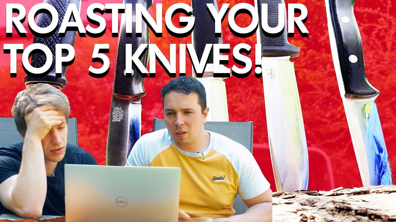 Rating our viewers top 5 Knives   THEY ARE TOO GOOD!!!