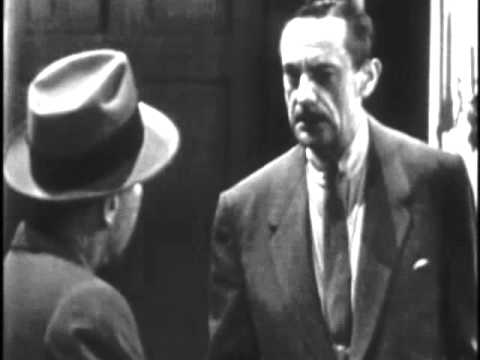 "1952 MARTIN KANE, PRIVATE EYE - ""A Crooner is Murdered"" - Lloyd Nolan"