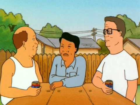 Hank Hill: So are you Chinese or Japanese??