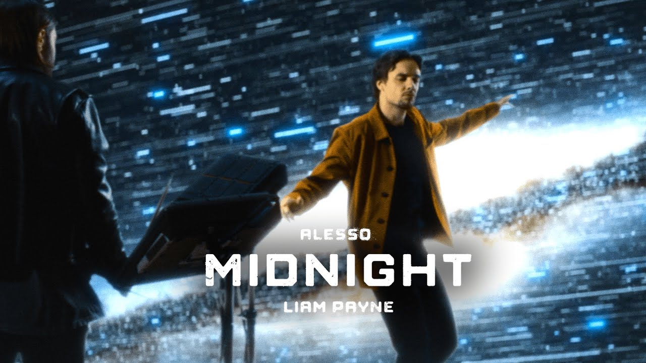 Midnight · By Alesso ft. Liam Payne (Cosmic Performance Video)