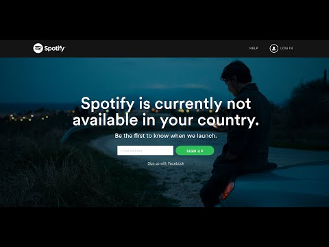 How to Use/Play Spotify App in India or Outside US/UK? Mp3