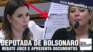 Aliada de Bolsonaro, deputada Caroline de Toni rebate Joice Hasselmann, apresenta documentos e..