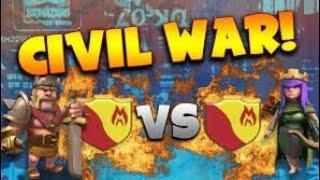 Clash of Clans live Stream. In war.