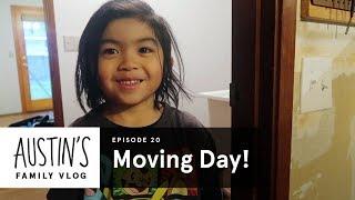 Moving Day | Austin Vlog | HiHo Kids
