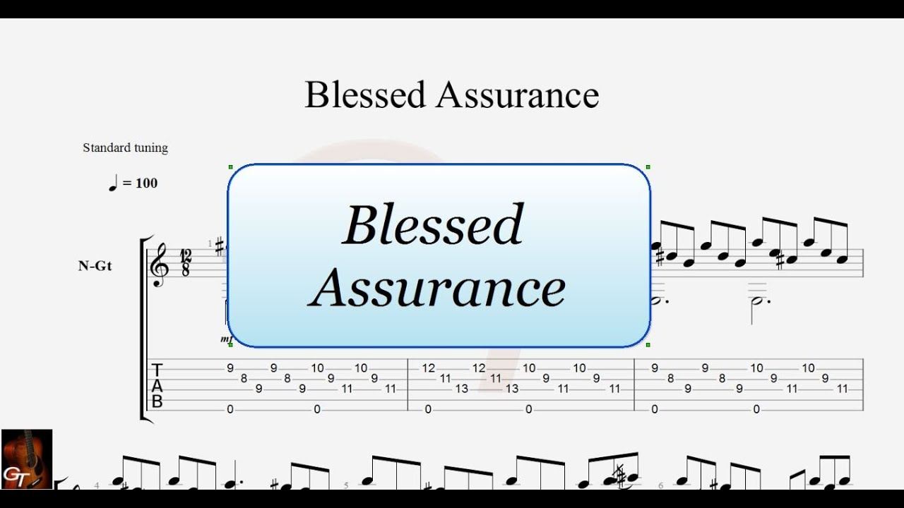 Blessed Assurance Youtube