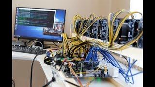 ETH Mining Rig on Windows 10 using 9x Nvidia GTX 1070